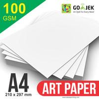 Kertas A4 - Art Paper 100 GSM 1 RIM