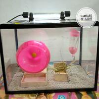 Terarium aquarium kandang hamster