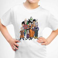 Kaos Baju Tshirt Anak Dragon Ball