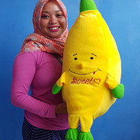 boneka bantal pisang jumbo