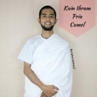Camel Kain Ihram/Baju Ihram Pria/Perlengkapan Haji dan Umroh