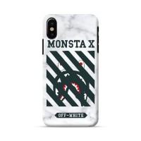 off white bape case iphone x 5s 6s 7 8 samsung s9 s8 s7 s6 a5 a7 a8 j7