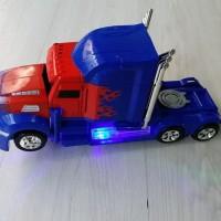 ROBOT TRANSFORM TRUCK OPTIMUS PRIME MOBIL BERUBAH JADI ROBOT OTB-206