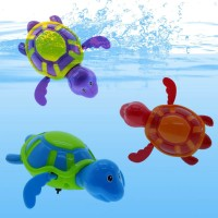New Baby Kid Toddler Swim Turtle Chain Clockwork Bathing Bath Toys