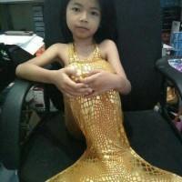 baju renang putri duyung mermaid baju renang putri duyung mermaid - Biru, S