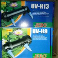 lampu aquarium jebo UV H9