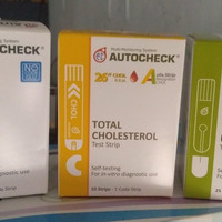 Paket Autocheck Strip Refill 3 in 1