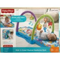 Fisher Price Kick n Crawl Musical Seahorse Gym Playmat Play Mat Baby