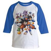 Kaos Baju Tshirt Anak Dragon Ball Z Raglan