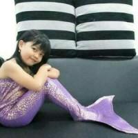 Baju kostum renang mermaid/putri duyung semua umur Baju kostum renang
