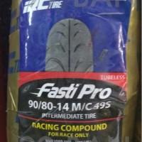 IRC FASTI PRO 90/80-14 (BAN BALAP SOFT COMPOUND RING 14, MOTOR MATIC)