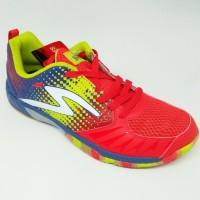 Sepatu olahraga specs original Quicker emperor red/navy/green new 2018