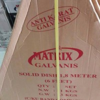 antena Parabola Matrix galvanis 1 8 m 180 cm anti karat solid dish B