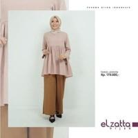Baju Atasan Muslim Terbaru Wanita Elzatta Tunik Lovieta