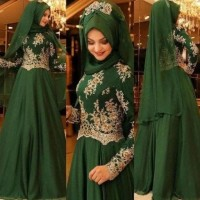 Terlaris A996 Baju Muslim Wanita - Gamis India - Maxi Baday