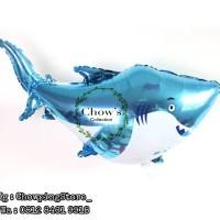 Balon Foil Animal Baby Shark JUMBO / Foil Binatang Ikan Hiu