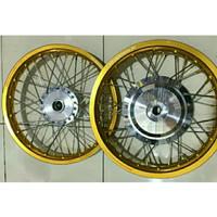 Sepaket Velg Tdr Ring 14 Honda Beat, Scoopy, Vario dll