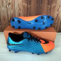 Sepatu bola Nike skin hypervenom sepatu rumput hijau