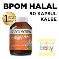 Blackmores Glucosamine Sulfate 1500mg 90 kapsul BPOM KALBE Sehat Sendi