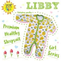 LIBBY SLEEPSUIT PREMIUM HEALTHY PACKS 3IN1 JUMPER TUTUP KAKI