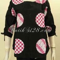 Batik Blus Atasan Cewek Cocok Untuk Kerja & Hangout Size M BLS8492P