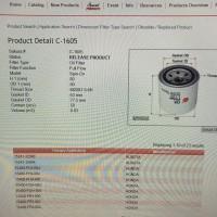 Filter oli Honda City SX ( C - 1605 ) Sakura -10227-