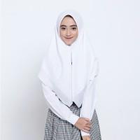kerudung ZOYA smart maxi putih