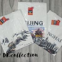 Baju kaos souvenir oleh oleh negara Cina china hongkong beijing