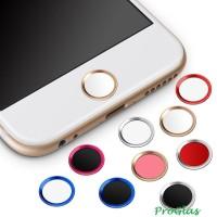 Home Button List For Iphone Ipad Ipod (Touch ID/Tombol Stiker/Sticker) - Hitam-Merah