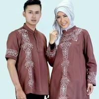 Baju Muslim Coupel/ Sarimbit Azzurra Pria 582-11Wanita 582-12