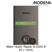 Pemanas Air GAS MODENA Water Heater Rapido Gi 1020 B - 144362