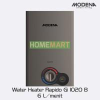 Pemanas Air GAS MODENA Water Heater Rapido Gi 0620 B - 144361