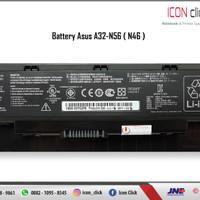 Baterai Asus N46, N46J, N46JV, N46V, N46VB, N46VJ, N46VM, N46Z