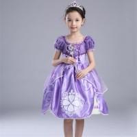 Baju Anak Dress Kostum Princess Sofia