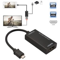 ADAPTER CONVERTER MICRO USB TO HDMI MHL FOR SMARTPHONE ANDROID