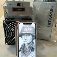 2nd Bitmain AntMiner A3 Include PSU Ready Stok!!!