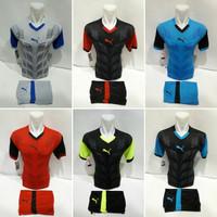 Setelan Jersey Baju Futsal Kaos Tim Bola Puma