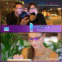 PROMO Lensa Essilor Anti Radiasi Blue Ray Kacamata HP TV UV Prevencia