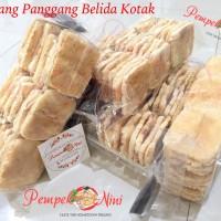 Kemplang/Kerupuk Panggang/Bakar ikan Belida Kotak (Pempek Nini)