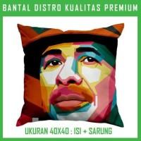 Bantal WPAP Carlos Santana 1 CSNT04 Bantal Sofa/Mobil