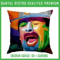 Bantal WPAP Carlos Santana 2 CSNT05 Bantal Sofa/Mobil