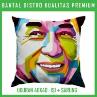 Bantal WPAP Jackie Chan JKCN01 Bantal Sofa/Mobil