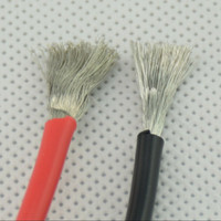 Silicon Cable 12AWG Kabel Silikon Wire AWG 12 HITAM 1 Meter