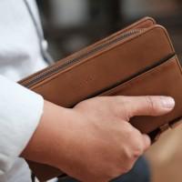Premium Leather Vape Bag | Vaporizer | Tas Vape | Vapor Bag | Bova Bag