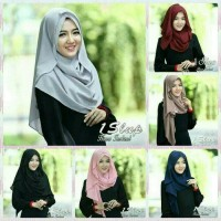jilbab/hijab/kerudung pasmina pashmina 1slup hana instan