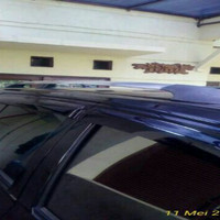 roof rail kaki rack di atas mobil datsun go plus panca