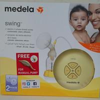 Medela Swing Electrik 2 phase Breast Pump RIKL, FREE manual