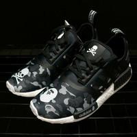 sepatu adidas NMD x Mastermind x Bape Premium