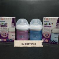 Botol Susu Avent Natural Wide neck 125ml 125 ml Box pink blue newborn