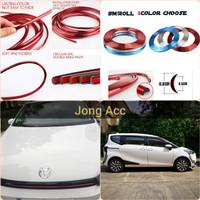 New List Chrome Velg Ban Mobil Aksesoris Krom Wheel Strip Protector